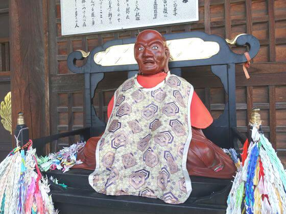成田山川越別院 おびんずるさま