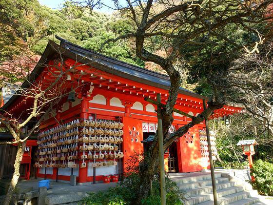 荏柄天神社 鎌倉 紅葉