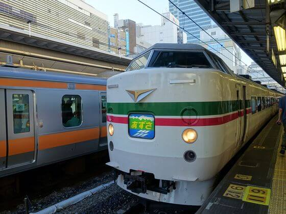 東京 諏訪 電車 料金