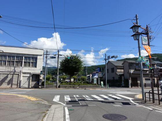 下諏訪駅前交差点