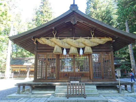 諏訪大社 春宮 神楽殿