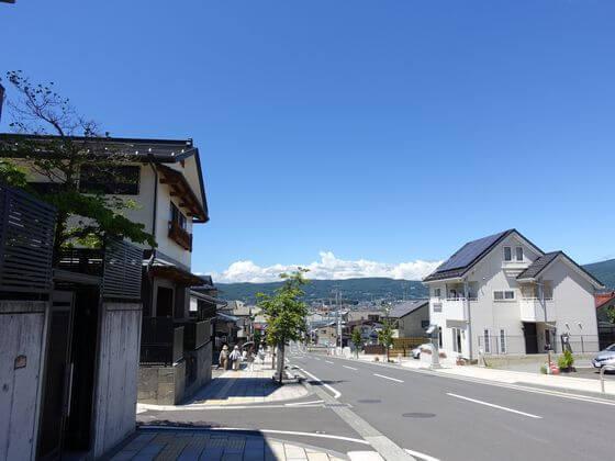 八幡坂 諏訪