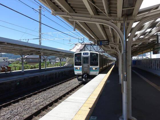 下諏訪駅 茅野駅
