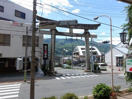 茅野駅前交差点