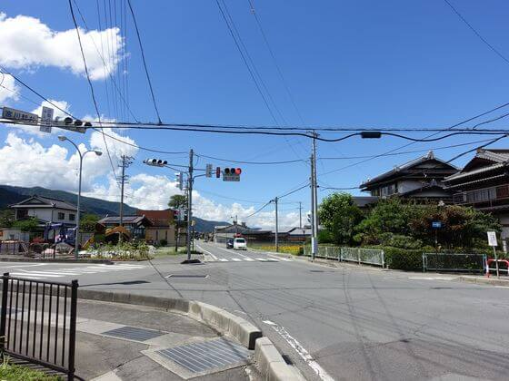 宮川新井交差点
