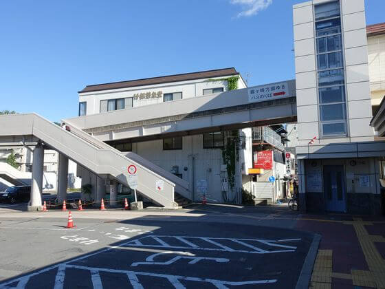 上諏訪駅 改札口