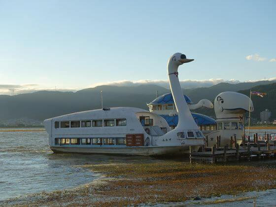 諏訪湖 遊覧船