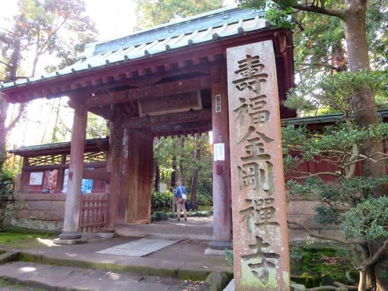 寿福寺 紅葉