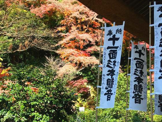 紅葉 杉本寺 鎌倉