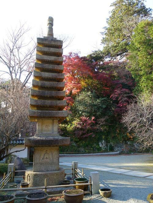 覚園寺 鎌倉 紅葉