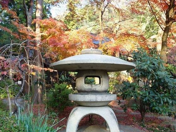 紅葉 鎌倉 覚園寺