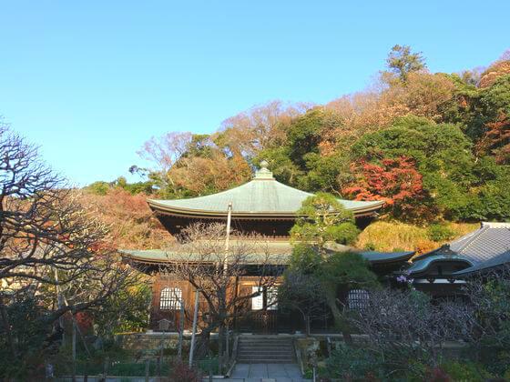 紅葉 瑞泉寺 鎌倉