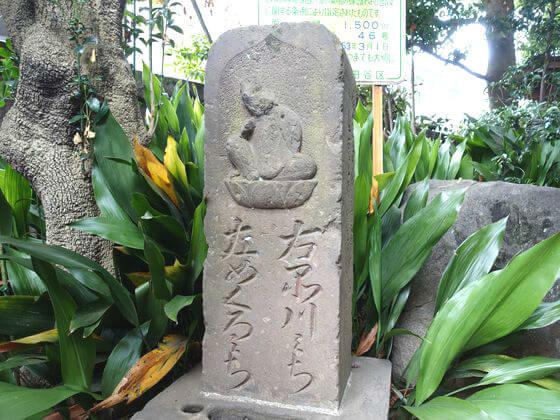 奥沢神社 道標