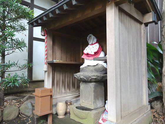 奥沢神社 地蔵尊