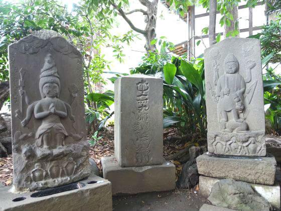 奥沢神社 庚申塔