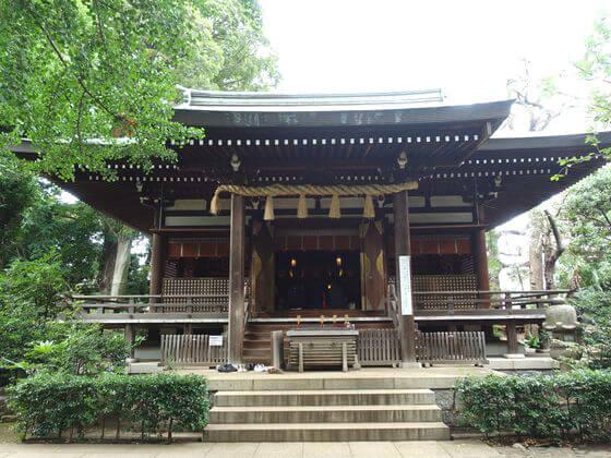 奥沢神社 社殿