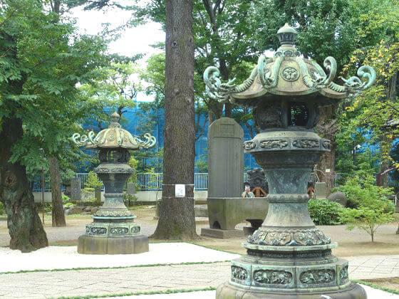 寛永寺 灯籠