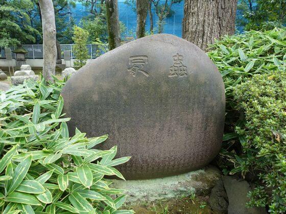 虫塚 寛永寺