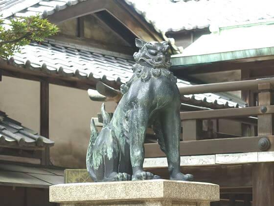五條天神社 狛犬