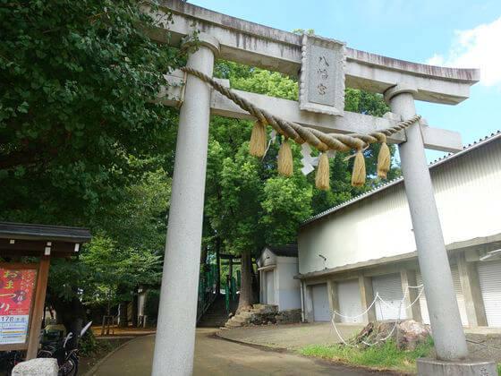 雪ヶ谷稲荷神社 鳥居