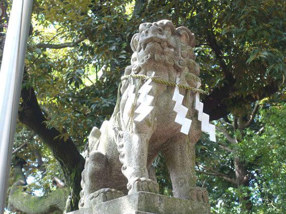雪ヶ谷稲荷神社 狛犬