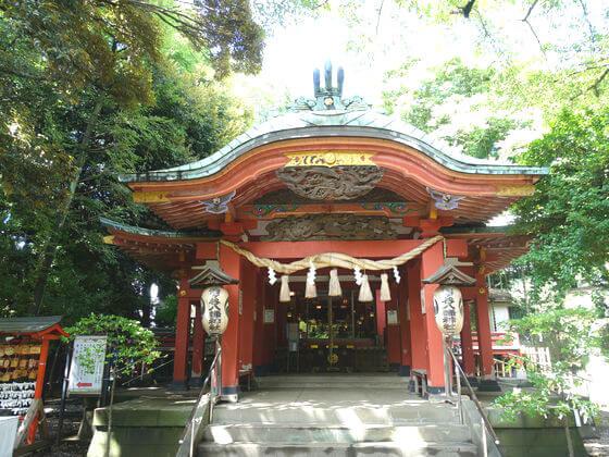 雪ヶ谷稲荷神社 社殿