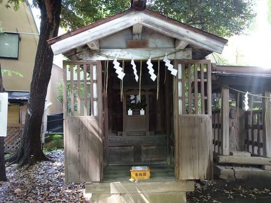 雪ヶ谷八幡神社 猿田彦神社
