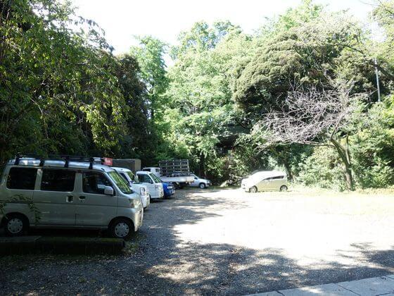 雪ヶ谷八幡神社 駐車場