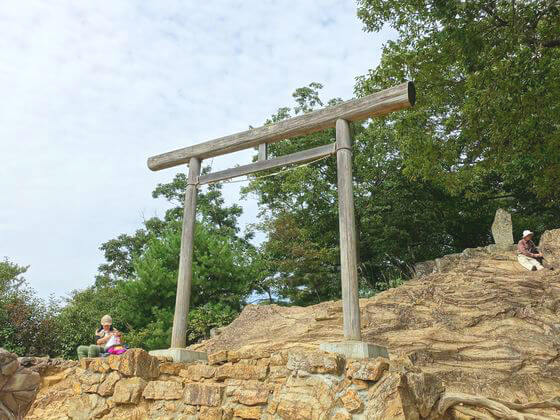 日和田山 金刀比羅神社 二ノ鳥居