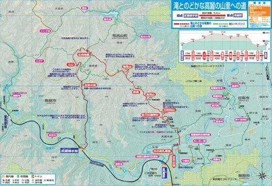 日和田山 地図