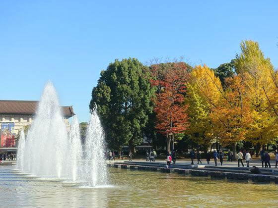 上野恩賜公園 紅葉
