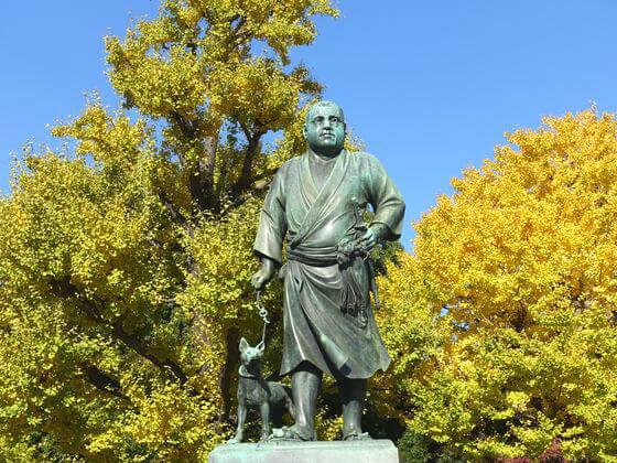 上野 紅葉