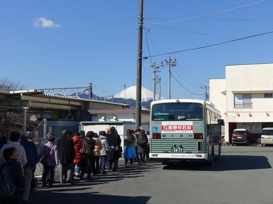 まつだ桜まつり シャトルバス