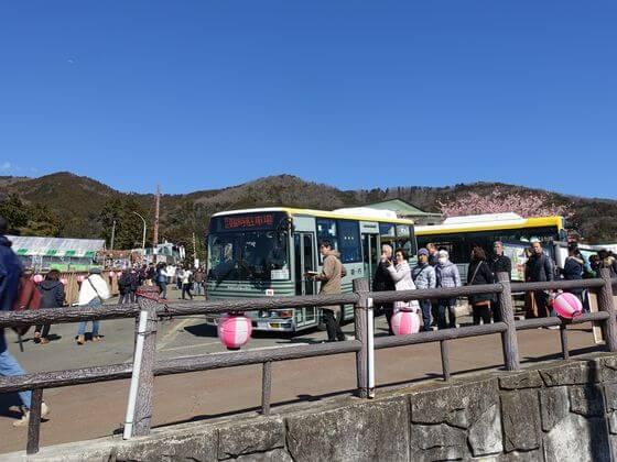 西平畑公園 シャトルバス