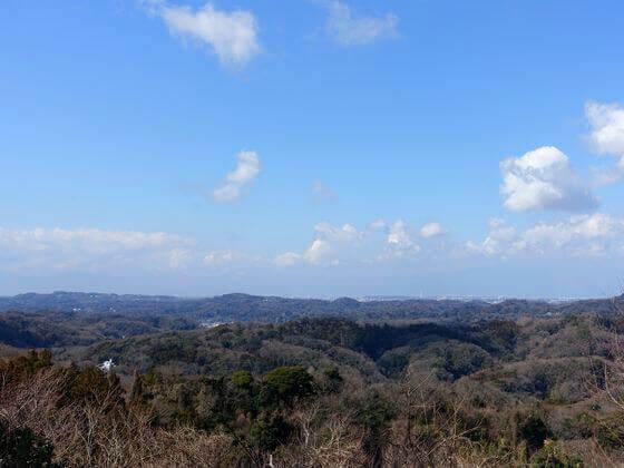 鎌倉 十二所果樹園 展望台