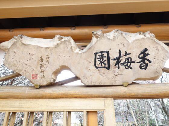 小村井香取神社 梅