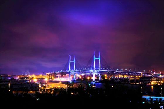 港の見える丘公園 夜景