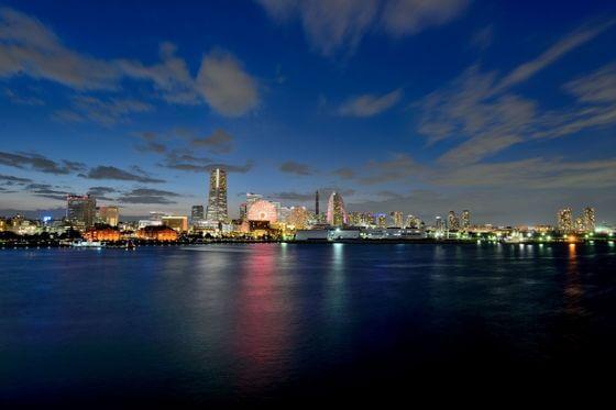 大桟橋 夜景