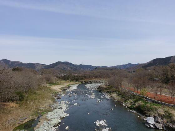 秩父 金石水管橋