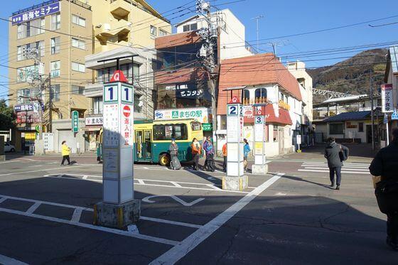 松田 ロウバイ バス