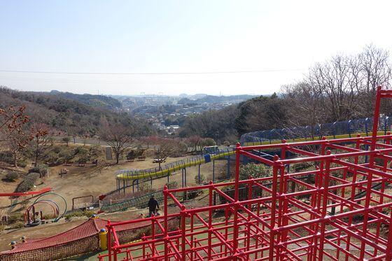 金沢自然公園 ローラー滑り台