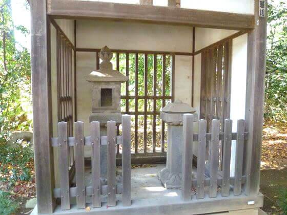 石神井氷川神社 石灯籠