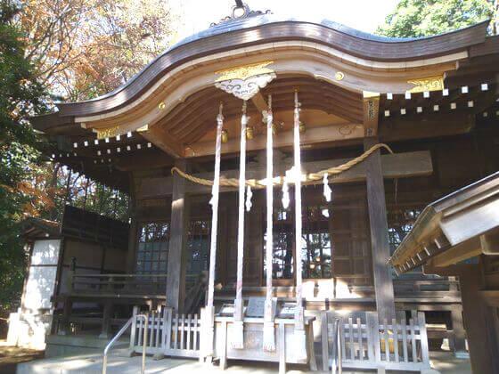 石神井氷川神社 社殿