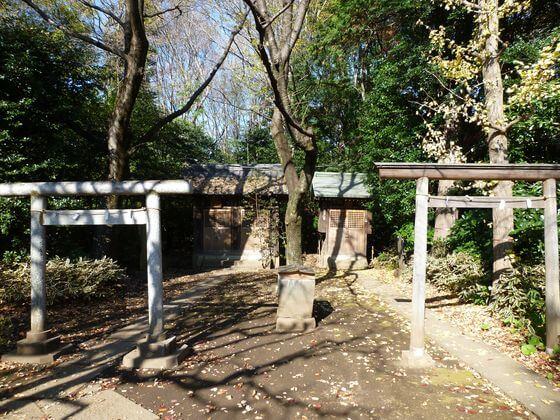 石神井氷川神社 末社