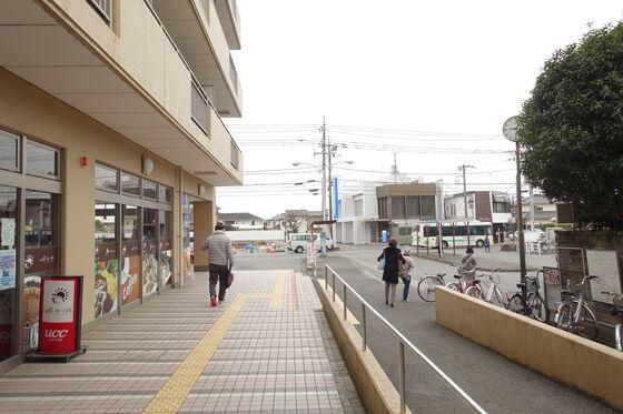 和田河原駅 改札口