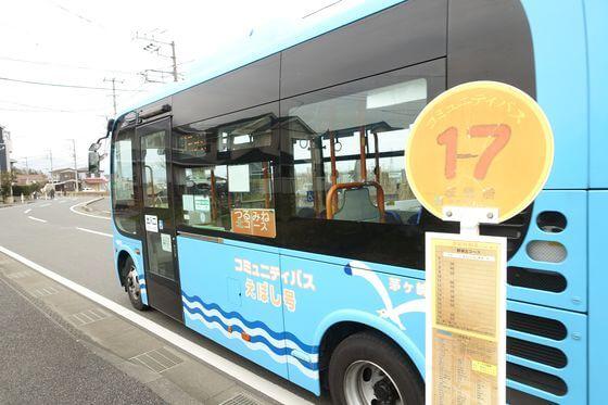 萩園橋バス停
