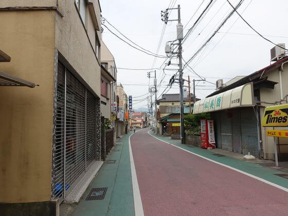 新松田駅 商店街
