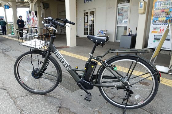 小諸駅 飯綱山公園 自転車