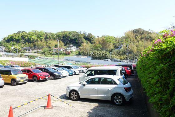 太田和つつじの丘 駐車場