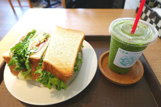 八百屋caffe ヤサイクル ホットサンド